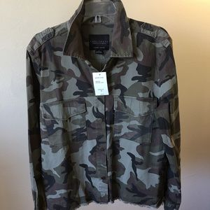 Sanctuary Fatigue Camo Jacket. New with tags.